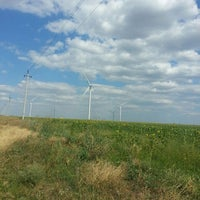 Photo taken at Wind power station by Alla M. on 7/11/2015