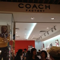 Photo taken at Coach Factory Outlet by Grace on 11/11/2012