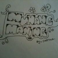 Photo taken at Monang Maning by Dartha M. on 5/3/2013