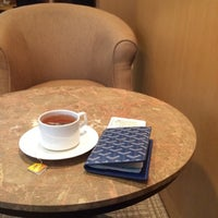 Photo taken at Singapore Airlines Lounge by Rosa C. on 3/17/2014