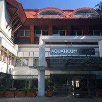 Photo taken at Aquaticum Termál és Wellness Hotel by Olivér I. on 5/27/2016
