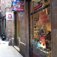 Photo taken at Lomography Gallery Store Barcelona by Juanma R. on 11/2/2012