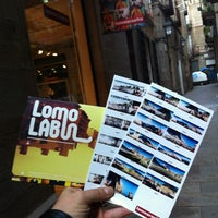 Photo taken at Lomography Gallery Store Barcelona by Juanma R. on 11/7/2012