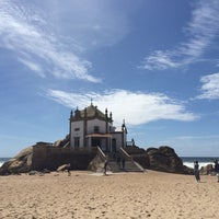 Photo taken at Praia do Senhor da Pedra by Paula R. on 5/1/2017