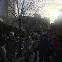 Photo taken at Union Square Holiday Market by Alejandra P. on 12/19/2016