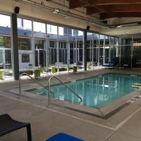 Photo taken at aLoft Portland Cascades Pool by Kristina P. on 5/1/2014