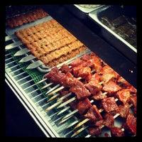 Photo taken at Bereket Turkish Kebab House by Eric C. on 10/9/2012