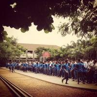 Photo taken at SMA Negeri 11 Bandung by Krisna F. on 11/7/2012