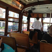 Photo taken at M-Line Trolley by Linda L. on 10/28/2012