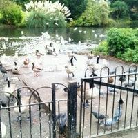 Photo taken at Ravenscourt Park by Kamila P. on 10/26/2012