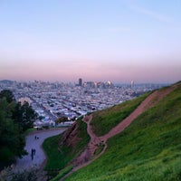 Photo taken at Bernal Heights Park by Tessa M. on 2/11/2013