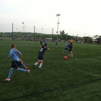 Photo taken at Overland Park Soccer Complex by HEAVY on 5/19/2013