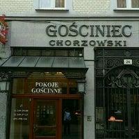 Photo taken at gosciniec chorzowski by Piotr R. on 8/25/2015