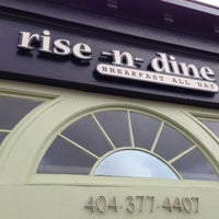 Photo taken at Rise-n-Dine by Jonathan on 12/9/2012