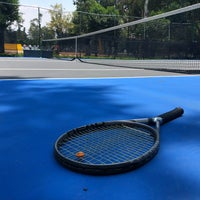 Photo taken at Cancha De Tenis Avante by Gerardo C. on 5/13/2018
