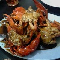 Photo taken at Dandito Seafood   Restaurant by Raditya P. on 10/29/2012