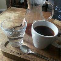 4/15/2014 tarihinde Marek K.ziyaretçi tarafından Leroy Bar & Café'de çekilen fotoğraf