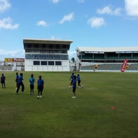 Photo taken at Kensington Oval by Roger T. on 5/25/2013