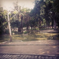 Photo taken at Parque Recanto do Trovador by Renan S. on 7/19/2013