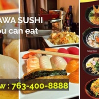 Photo taken at Okinawa Sushi Bar---all you can eat by user40571 u. on 12/5/2016