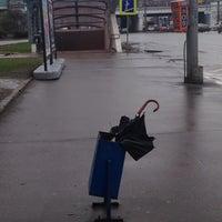 Photo taken at Остановка «Хамовнический Вал» by Irina A. on 5/7/2014