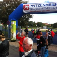 Photo taken at Golfparklauf by Peter R. on 9/8/2013