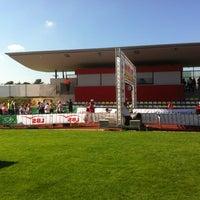 Photo taken at Fiducia GAD Baden-Marathon by Peter R. on 9/22/2013