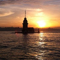 Photo taken at Maiden's Tower by İskender on 10/15/2013