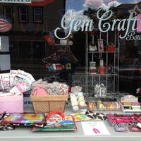 Photo taken at Gem Craft Boutique by Deborah O. on 5/31/2014