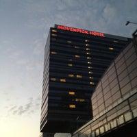 Photo taken at Mövenpick Hotel Amsterdam City Centre by Kate on 10/23/2012