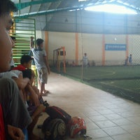 Photo taken at SSC Futsal by Hands S. on 3/9/2013