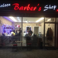 Photo taken at Salon Barber's by Göksel K. on 11/19/2013