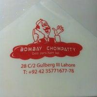 Photo taken at Bombay Chowpatty by Abdullah on 7/25/2014