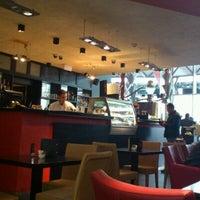 Photo taken at Cafe & Factory by Ninoka K. on 10/13/2012
