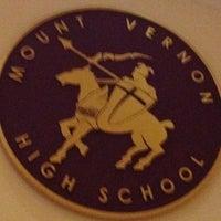 Photo taken at Mount Vernon High School by ☕️ Corrine ☕️ on 12/21/2013