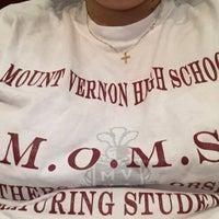 Photo taken at Mount Vernon High School by ☕️ Corrine ☕️ on 10/8/2015