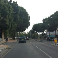 Photo taken at Griva Digeni Avenue by Konstantinos M. K. on 10/27/2014