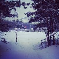 Photo taken at платформа Омутище by Arina L. on 1/3/2013