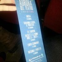 Photo taken at Teatro Aurora by Deborah C. on 3/20/2013