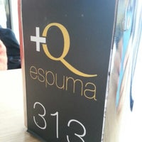Photo taken at + q espuma by Alberto O. on 1/4/2013