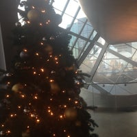 Photo taken at City Of Edmonton Terrace At AGA by Robyn E. on 12/14/2012