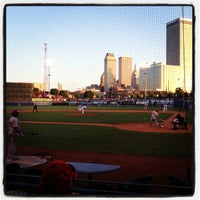 Photo taken at ONEOK Field by Jon on 5/15/2013