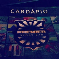 Photo taken at Premier Sport Bar by Rodrigo on 12/14/2012