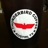 Photo taken at Thunderbird Coffee by Matt B. on 1/27/2013