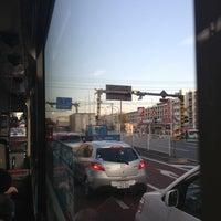 Photo taken at 日曹橋 by kamawanujp on 2/2/2013