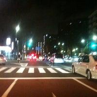 Photo taken at 日曹橋交差点 by kamawanujp on 9/17/2012
