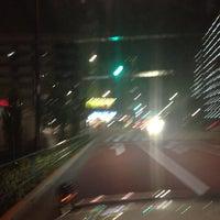 Photo taken at 日曹橋 by kamawanujp on 7/28/2013