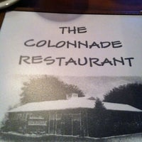 Photo taken at The Colonnade Restaurant by Charlene W. on 12/22/2012