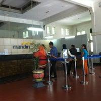 Photo taken at Bank Mandiri Cabang Muara by nia n. on 12/28/2012