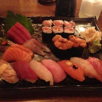 Photo taken at Blue Ribbon Sushi Bar & Grill by Alice on 8/28/2013
